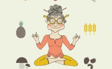 People Who Practice Yoga and Meditation Are Vegetarian