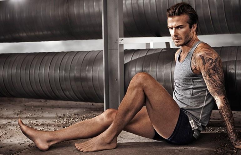 David Beckham Yoga