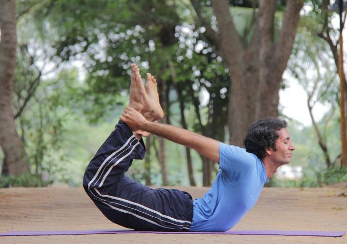 Dhanurasana Bow-Pose