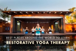 Best Place for Restorative Yoga Therapy