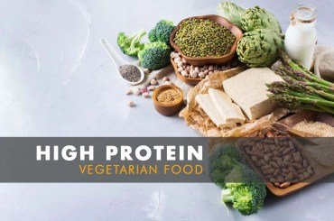 High Protein Vegetarian Food