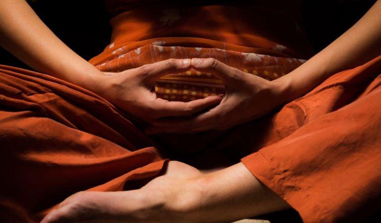 Yoga Mudra while Meditation