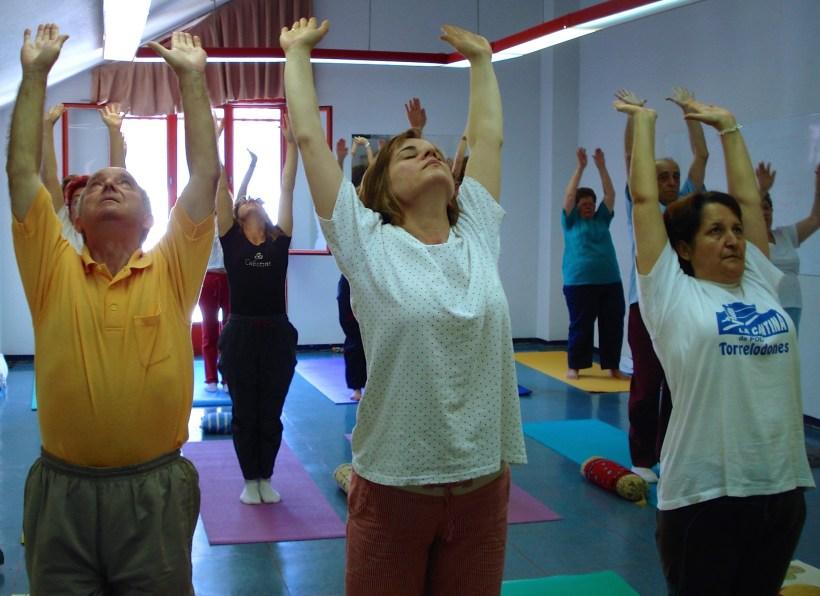 Yoga Tercera edad