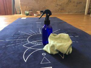 nettoyer son tapis de yoga