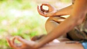 Meditationshaltung