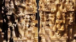 Säulen Tempel Rajasthan © Annette Bauer yoga-xperience.de