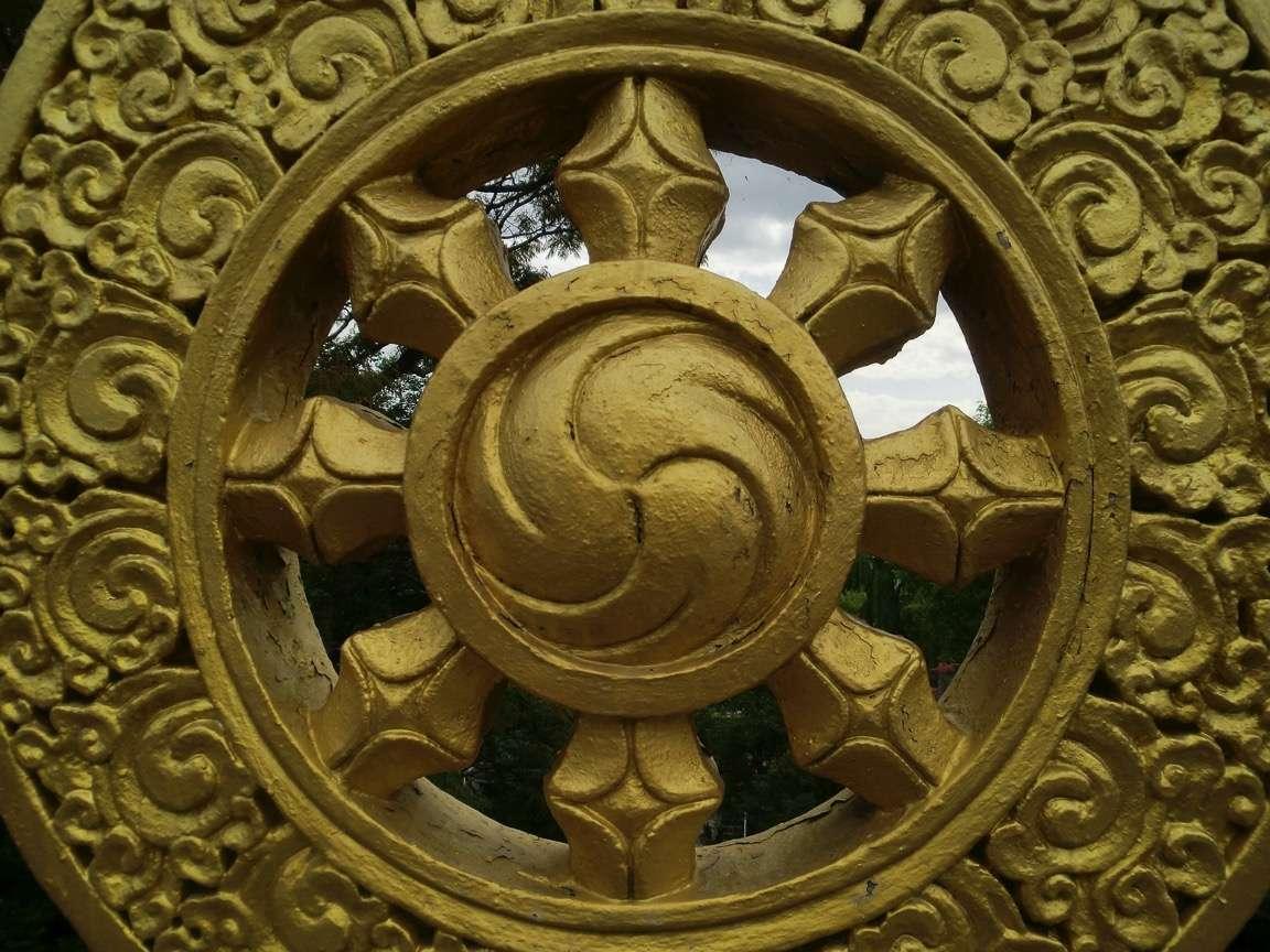 Dharma rad © gold-194618/Pixabay