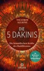 """Cover, """"Die 5 Dakinis"""" von Tsueltrim Allione © Arkana; Yogannetteblog.de"""