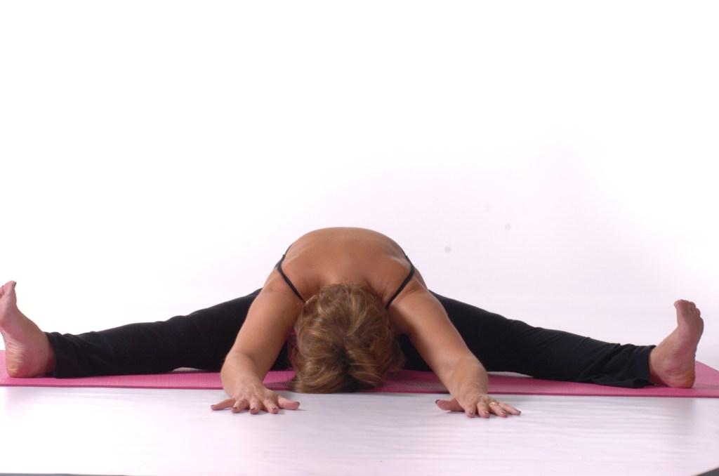 Yoga_wide legged forward head down