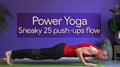 power yogales met 25 push ups