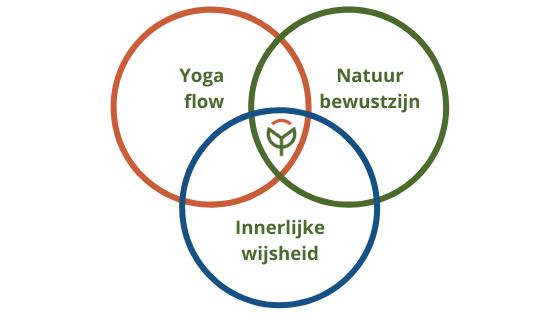 Yoga flow, natuurbewustzijn, innerlijke wijsheid