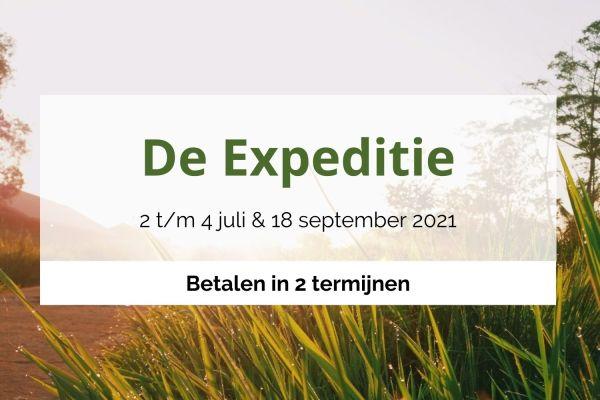 Expeditie juli 2 termijnen