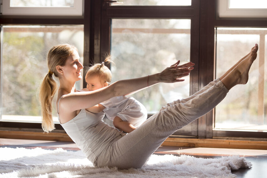 mums and bubs yoga