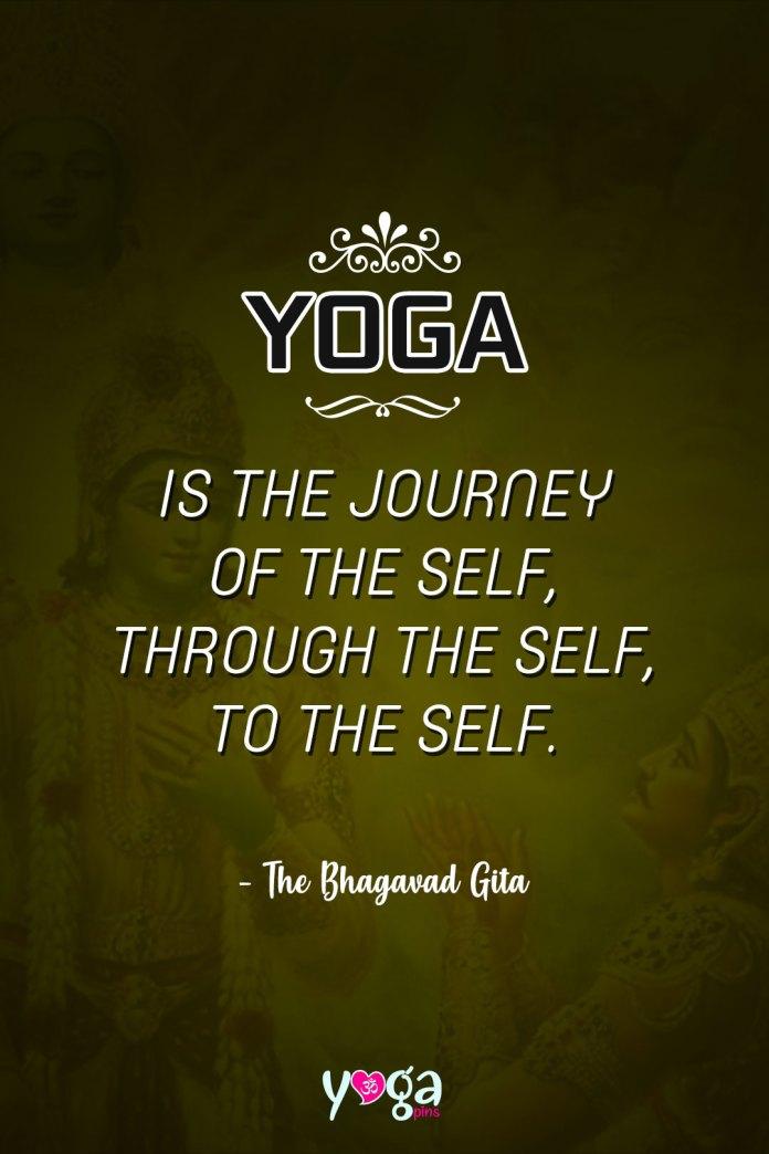 The Bhagavad Gita Quotes Yoga Pins