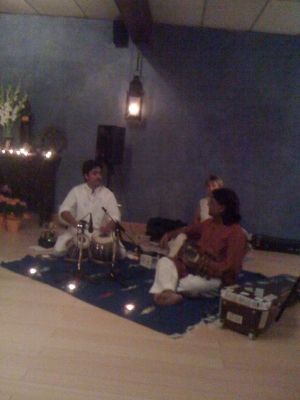 the maharaj's in full song