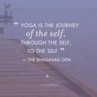 Yoga is journey of self