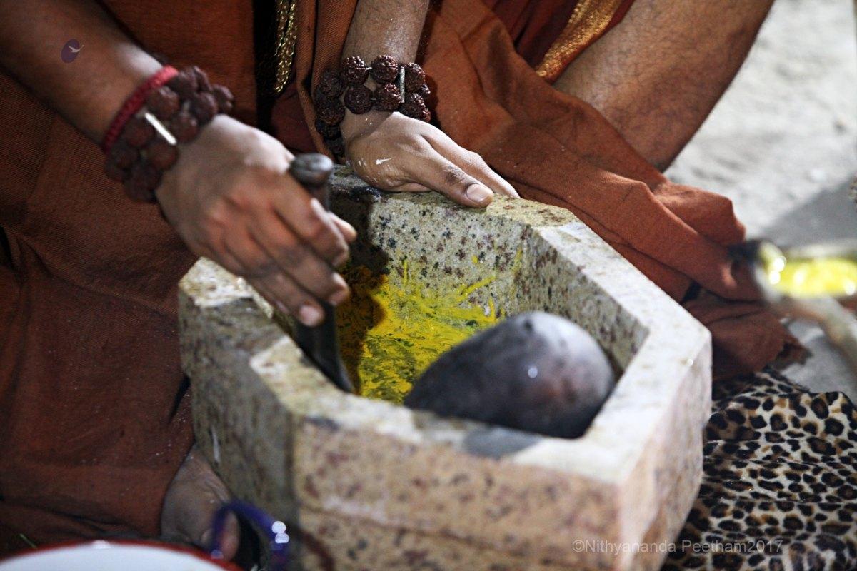 preparation of aushadha