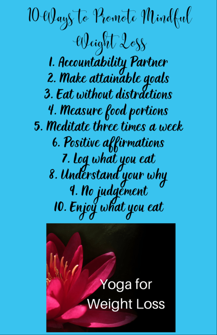 Tips for Mindful Weight Loss