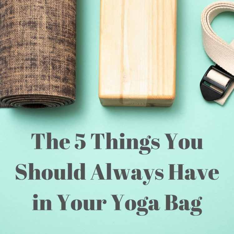 What to Put in a Yoga Bag for Beginners