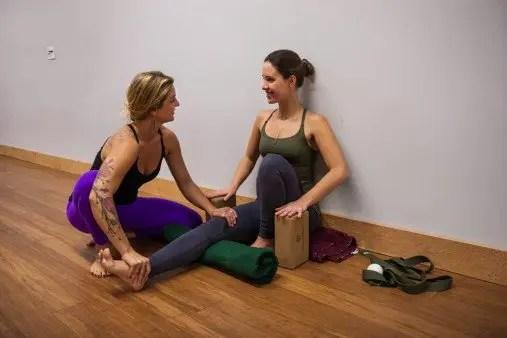 Portland yoga therapeutics with Annie Adamson