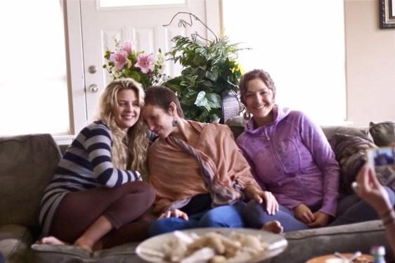 your instructors - Annie, Uma, and Natalie