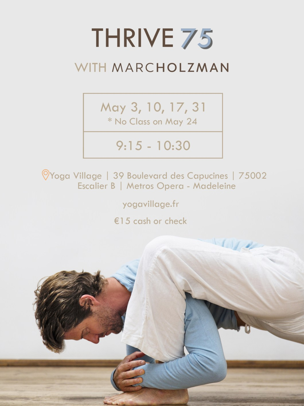 Marc Holzman Yoga Paris Village 3b481e3af6b