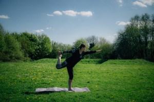 Cosmic dancer yoga vision