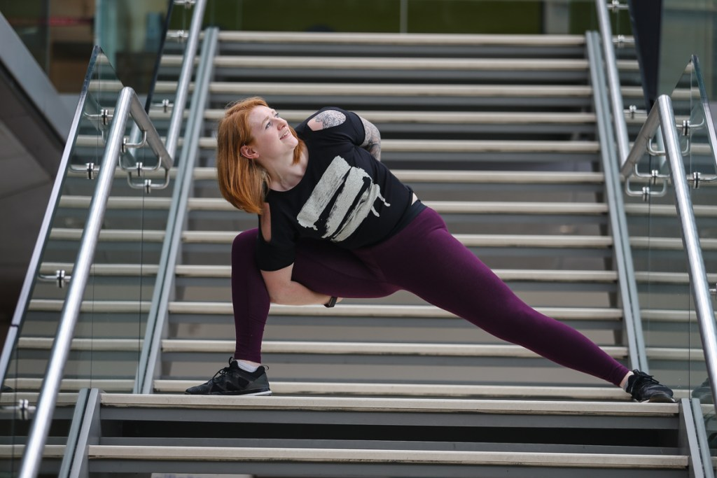 Yogavision Norwich shoot Kirsty 40