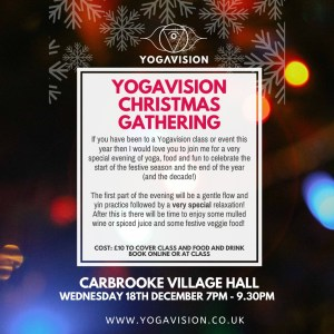 Copy of yogavision christmas gathering