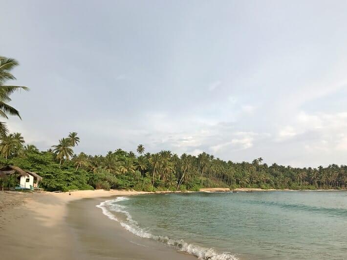 Beaches in south coast of Sri Lanka