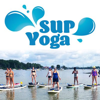 SUP Yoga on Lake Anna with Yoga and Wellness with Angelina Fox, ERYT500, YACEP, Yoga Teacher and Ayurveda Health Counselor Product Image