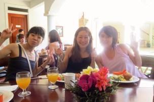 A cheerful breakfast, HIRC