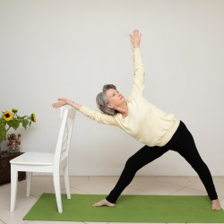Chair Yoga therapy