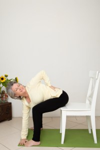 Chair Yoga therapy for over 40s