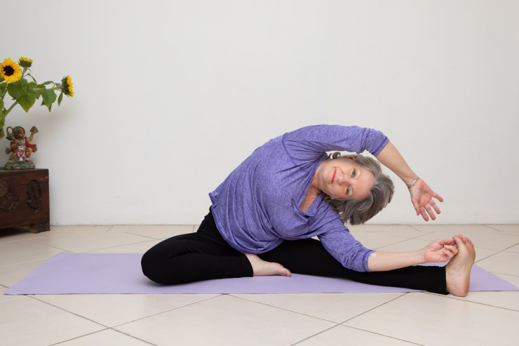yoga for elderly people