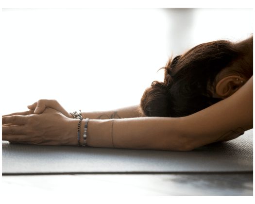 yoga relieves anxiety ayurveda fear