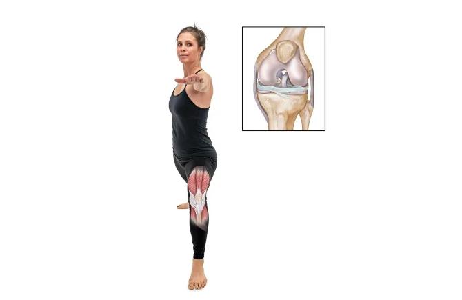 Как сохранить колени и избежать травм во время занятий йогой: