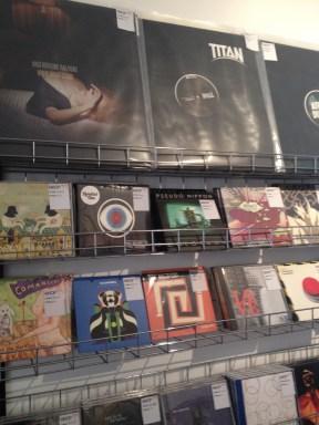 Vinyls and CDs at Shop 33.