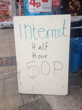Not all Internet connectivity in Luton is free.