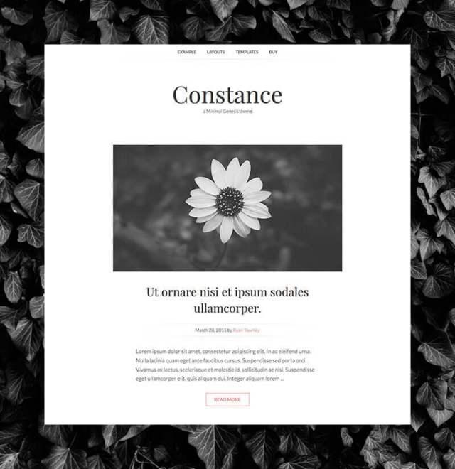 Constance Minimal Genesis Theme