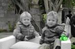 Cheeky boys