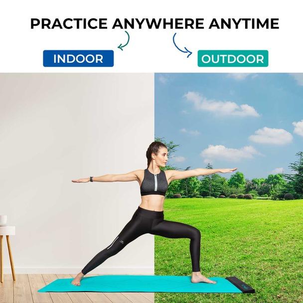 practice both indoor and outdoor