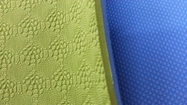 Double-sided texture of CUCA yoga mats