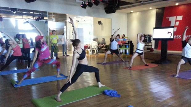 Short yoga practice
