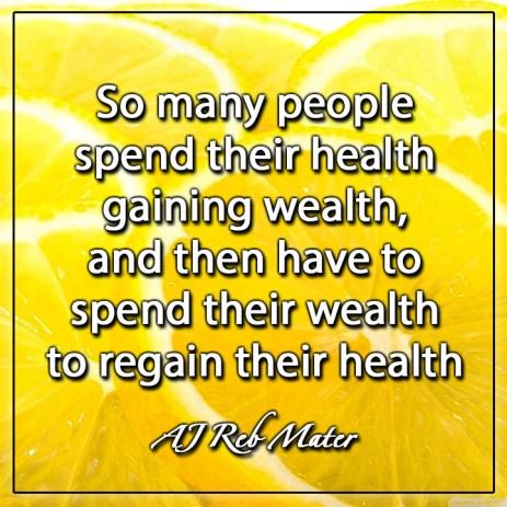 Health by AJ Reb Mater