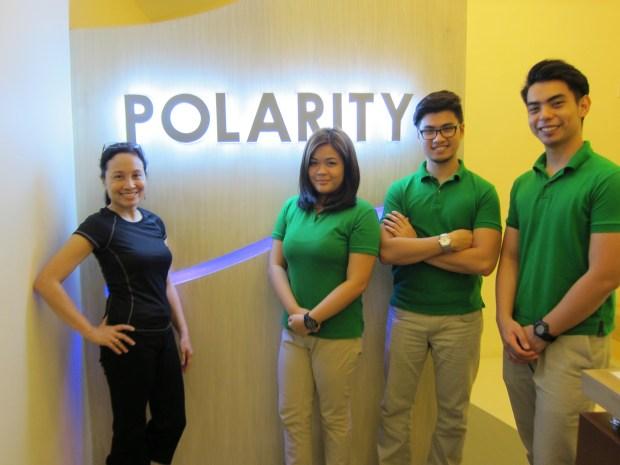 With the Polarity team