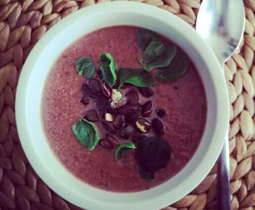 Ayurvedische Rote Beete Suppe