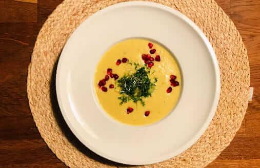 Pastinaken-Kurkuma Suppe