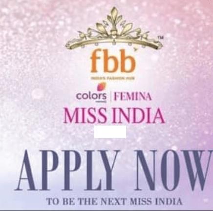 Femina Miss India Audition Date 2021
