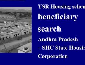 YSR Housing scheme sanction list